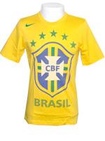 Camiseta Brasil Federation Nike Amarela