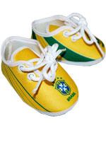 Chuteirinha Torcida Baby Brasil