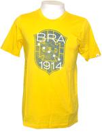 Camisa Brasil Covert CBD 1914 Amarela