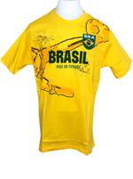 Camisa Brasil Fuss Infantil - Amarela