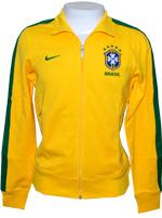 Jaqueta N98 Brasil Nike Amarela