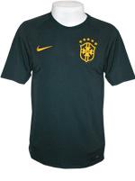 Camisa Jogo 3 Brasil Nike 2014 Verde