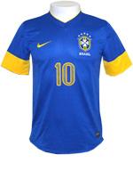 Camisa de Jogo Brasil Nike 2012 Azul
