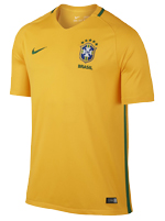 Camisa de Jogo Brasil Nike 2016 Amarela S/N