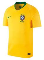 Camisa de Jogo Brasil Nike 2018 Amarela S/N