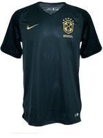 Camisa de Jogo Brasil Nike 2017/2018 Verde Esc S/N