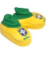 Pantufa Torcida Baby Brasil
