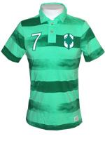 Polo Brasil Covert Vintage Nike Verde