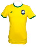Camisa Retr� Brasil CBD 1970 Nike Amarela