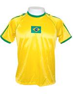 Camisa Braziline Brasil Roll