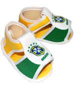 Sandalinha Torcida Baby Brasil