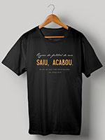 Camiseta Regras do Futebol de Rua - Saiu