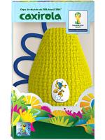 Chocalho Caxirola FIFA Fuleco Amarela