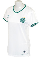 Camisa Feminina Chapecoense 2014/15 Umbro Branca