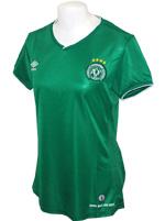 Camisa Feminina Chapecoense 2014/15 Umbro Verde