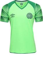 Camisa de Goleiro Chapecoense Umbro 17/18 Verde