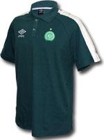 Camisa Polo Viagem Chapecoense 2017 Umbro Verde