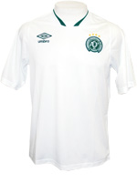 Camisa de Treino Chapecoense 2014/15 Umbro Branca