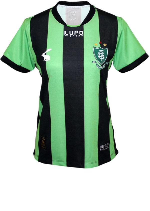 Camisa Feminina América MG Lupo 2017 Listrada e2b2009e39309