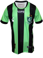 Camisa Infantil América MG Lupo 2017 Listrada