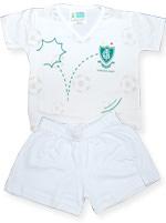 Pijama Curto Infantil Torcida Baby Am�rica