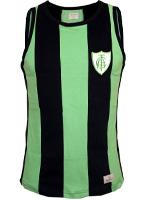 Regata Retrô América MG 1971 Verde/Preta