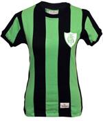 Camisa Retrô Feminina América MG 1971 Verde/Preta