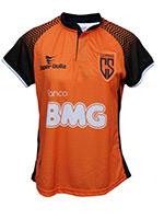 Camisa Coimbra Jogo 01 Laranja Feminina