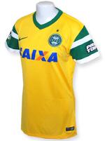 Camisa Feminina Coritiba Nike 2014 Amarela