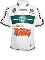 Camisa Jogo 1 Coritiba Lotto 2011 Branca