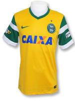 Camisa Jogo 3 Coritiba Nike 2014 Amarela