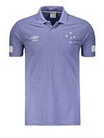 Camisa Polo Viagem Cruzeiro 2018 Royal
