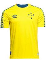 Camisa Umbro Cruzeiro Goleiro 2019 Amarela
