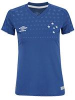 Camisa Feminina Cruzeiro Jogo 1 Umbro 2019