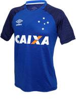 Camisa de Aquecimento Cruzeiro Umbro 2017 Marinho