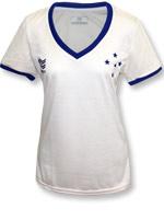 Camisa Feminina Cruzeiro Básica Penalty Areia