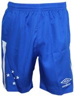 Calção Júnior Jogo 2 Cruzeiro 2016 Umbro Azul