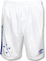 Calção Júnior Jogo 1 Cruzeiro 2016 Umbro Branco