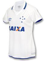 Camisa Feminina Jogo 2 Cruzeiro Umbro 2017 Branca