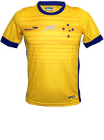 Camisa Juvenil Goleiro 1 Cruzeiro 2015 Amarela