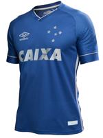 Camisa Jogo 3 Cruzeiro Umbro 2017 Azul