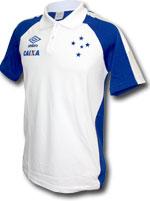 Camisa Polo Viagem Cruzeiro Umbro 2017 Branca