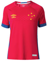 Camisa Masculina Goleiro Cruzeiro Vermelha 2018