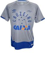 Camisa de Goleiro Cruzeiro Umbro 2016 Cinza