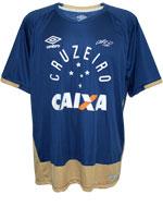 Camisa de Goleiro Cruzeiro Umbro 2016 Marinho