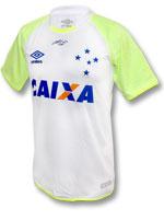 Camisa de Goleiro Cruzeiro Umbro 2017 Branca