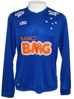 Camisa de Jogo ML Cruzeiro 2014 Olympikus Azul