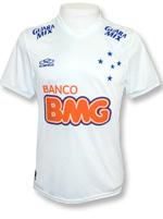 Camisa de Jogo Cruzeiro 2014 Olympikus Branca