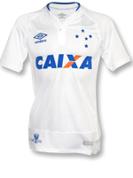 Camisa Jogo 2 Cruzeiro Umbro 2016 Branca S/N Game