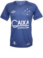 Camisa Jogo 3 Cruzeiro Umbro 2016 Azul N10